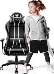 Fotel Diablo Chairs X-ONE 2.0 KIDS Czarno-biały