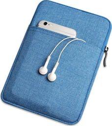 Etui do tabletu Etui pokrowiec miękki uniwersalny na tablet do 9,7 cali niebieskie uniwersalny