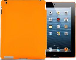 Etui do tabletu 4kom.pl Matowe etui Back Cover do Apple iPad 2 / 3 / 4 pomarańczowe uniwersalny