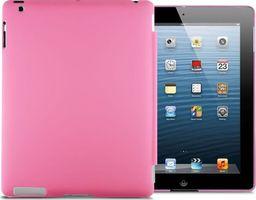 Etui do tabletu 4kom.pl Matowe etui Back Cover do Apple iPad 2 / 3 / 4 różowe uniwersalny