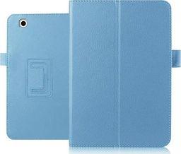 Etui do tabletu 4kom.pl Etui skórzane case do LG G Pad II 10.1 V940N stojak Niebieskie uniwersalny