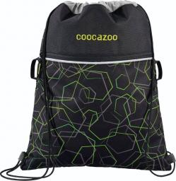 Coocazoo Worek na buty RocketPocket II Laserbeam Black