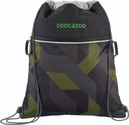 Coocazoo Worek na buty RocketPocket II Polygon Bricks Grey