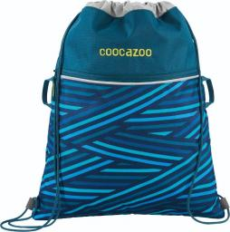 Coocazoo Worek na buty RocketPocket II Zebra Stripe Blue