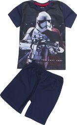 TXM TXM Piżama chłopięca z krótkim rękawem Star Wars 116 GRANATOWY
