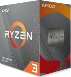 Procesor AMD Ryzen 3 3300X, 3.8GHz, 16 MB, BOX (100-100000159BOX)