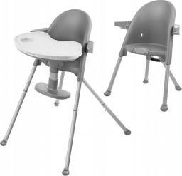 KinderKraft Krzesełko do karmienia Pini gray