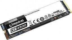 Dysk SSD Kingston SKC2500 1 TB M.2 2280 PCI-E x4 Gen3 NVMe
