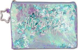 Stnux Kosmetyczka Mermaid fioletowa 6208 STNUX