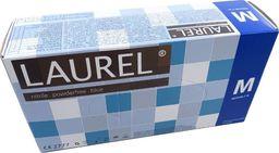 Laurel Laurel Rękawiczki nitrylowe jednorazowe 200szt. : Rozmiar - M
