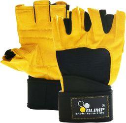 Olimp Olimp Rękawice treningowe Raptor żółte : Rozmiar - M