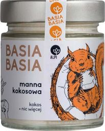 ALPI Hummus Basia Basia Manna kokosowa (masło kokosowe) 210g