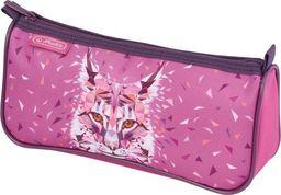 Piórnik Herlitz Piórnik kosmetyczka trójkątny Sport Wild Lynx