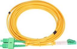 ExtraLink EXTRALINK PATCHCORD SC/APC-LC/APC SM 9/125 DUPLEX 3.0MM 1,5M