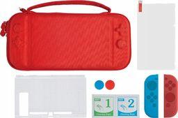 Nintendo MARIGames Zestaw 6w1 Akcesoria Do Konsoli Nintendo Switch / Czerwony Futerał
