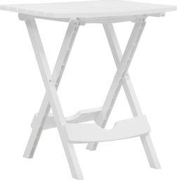 vidaXL składany stół ogrodowy, 45,5x38,5x50 cm, biały (47690)