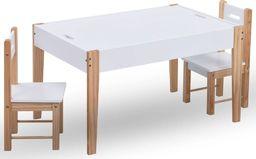 vidaXL VidaXL 3-częściowy zestaw dla dzieci, stolik do rysowania i krzesła