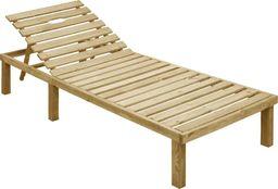 vidaXL leżak, impregnowane drewno sosnowe (49087)