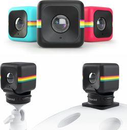 Aparat cyfrowy Polaroid POLAROID CUBE ZESTAW ( KAMERA + UCHWYT STATYWOWY + UCHWYT NA KASK) - CZERWONA