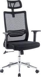 Techly Obrotowy Fotel biurowy z wentylowanym oparciem i zagłówkiem