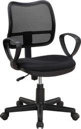 Techly Obrotowy fotel biurowy krzesło z wentylowanym oparciem