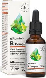 Aura Herbals Witamina B Complex krople 30ml Aura Herbals