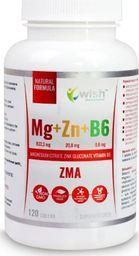 Vivio Magnez+Cynk+witamina B6 - 120 kapsułek WISH