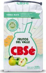 CBSe Yerba mate CBSe Frutos del Valle owoce doliny 500g