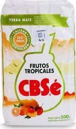 CBSe Yerba mate CBSe owoce tropikalne 500g