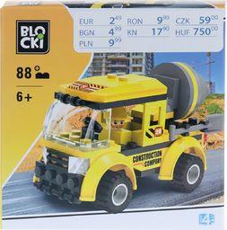 Blocki Klocki żółty 72 elementów