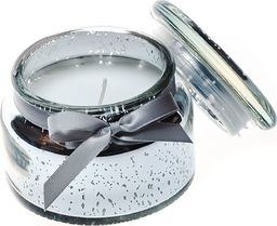PEPCO PEPCO - Ozdobna świeca zapachowa (wys. 10cm) srebny