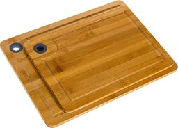 Deska do krojenia PEPCO PEPCO - Komplet 2 desek z drewna bambusowego