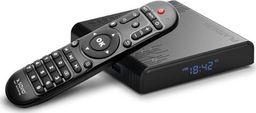 Savio Odtwarzacz multimedialny SAVIO TB-P02 Smart TV Box Platinum, 4/32GB, 8K, Android 9.0 Pie, Bluetooth, USB 3.0, Dual Wi-Fi, lan 1000mbps-SAVMTB-P02