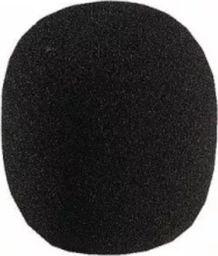 Wiatrochron | Owiewka | Gąbka mikrofonowa mała, czarna; średnica otworu- 8 mm