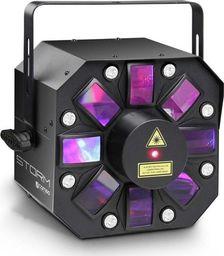 Cameo Efekt świetlny Cameo STORM 3w1, 5 x RGBWA 3W: Derby, stroboskop i laser dyfrakcyjny