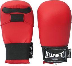 Allright Rękawice przyrządowe do karate Allright PU Red rozmiar M uniwersalny