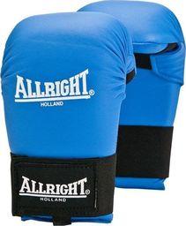 Allright Rękawice przyrządowe do karate Allright PU Blue rozmiar L uniwersalny