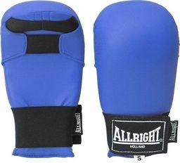 Allright Rękawice przyrządowe do karate Allright PU Blue rozmiar M uniwersalny