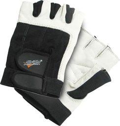 Allright Rękawiczki kulturystyczne skóra krótkie Allright rozmiar XXL uniwersalny