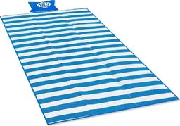 Nils Camp Koc mata plażowa Nils Camp NC1300 180x90 cm pp niebieska uniwersalny