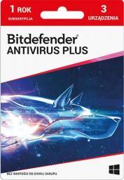 Bitdefender 3 urządzenia 12 miesięcy  (PLBITDBS01)