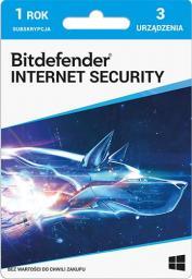 Bitdefender 3 urządzenia 12 miesięcy  (PLBITDBS02)
