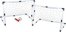 ISO 2w1 bramki piłkarskie do piłki nożnej + piłka roz. M uniwersalny