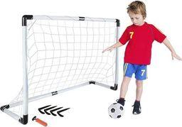 ISO Zestaw piłkarski bramka piłka pompka śledzie mocujące uniwersalny