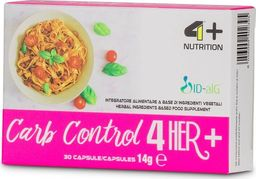 4+ Nutrition 4+ Nutrition Carb Control 4 Her+ 30 kaps.
