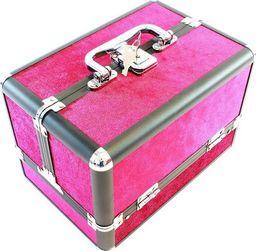 APTE Kuferek kufer organizer na kosmetyki purpurowy klucz uniwersalny