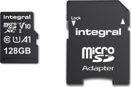 Karta Integral High Speed MicroSDXC 128 GB Class 10 UHS-I/U1 V10 (43177-uniw)