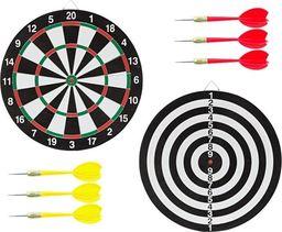 APTE Tarcza tablica dwustronna dart rzutki plansza uniwersalny