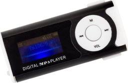 Odtwarzacz MP3 APTE Odtwarzacz przenośny MP3 LCD radio czarny uniwersalny