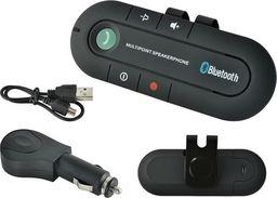 Zestaw głośnomówiący ISO Zestaw głośnomówiący transmiter bluetooth do samochodu uniwersalny